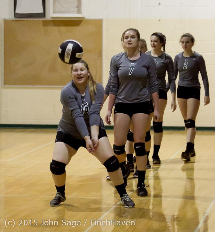 7094 Varsity Volleyball v Crosspoint 102315