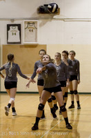7101 Varsity Volleyball v Crosspoint 102315