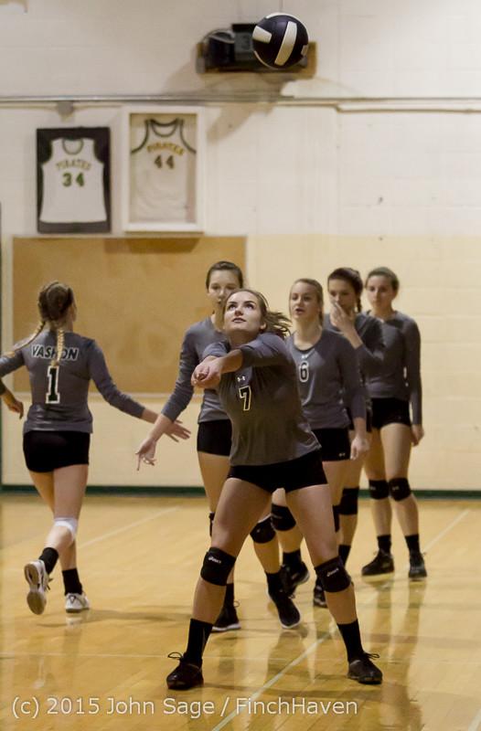 7101 Varsity Volleyball v Crosspoint 102315