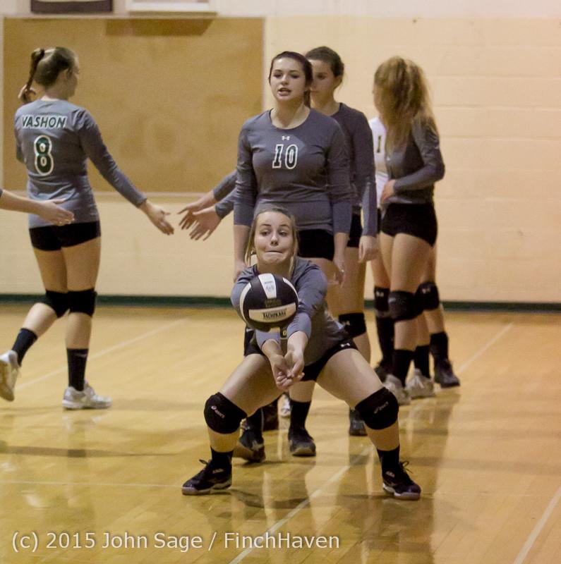 7107 Varsity Volleyball v Crosspoint 102315