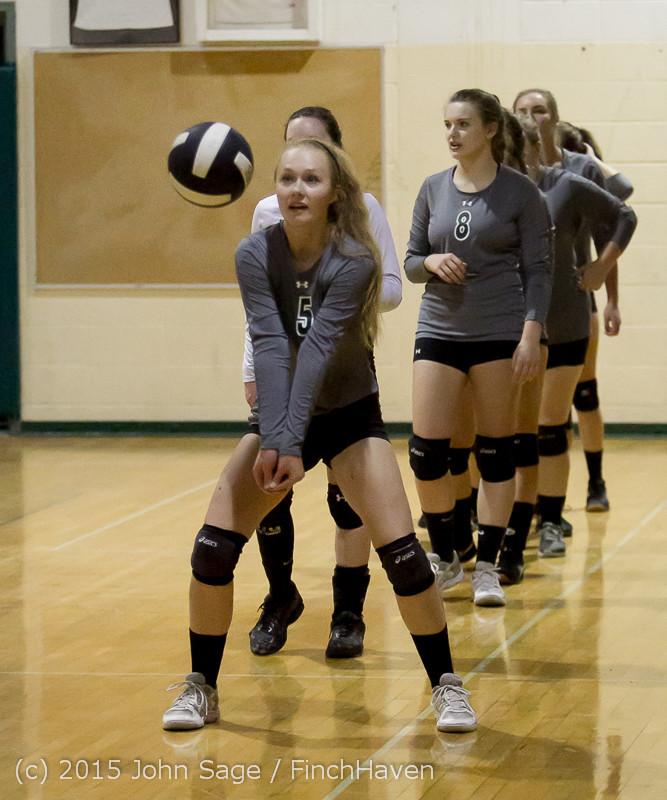 7125 Varsity Volleyball v Crosspoint 102315