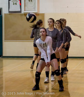 7129 Varsity Volleyball v Crosspoint 102315