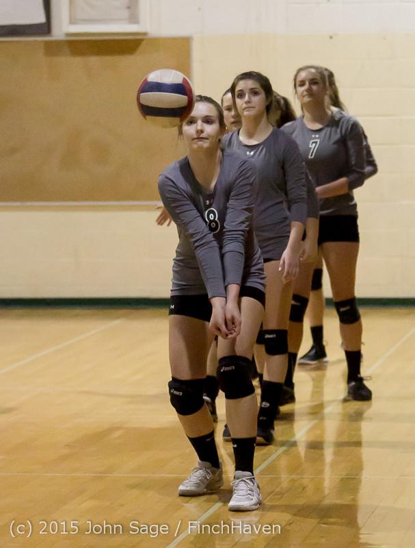 7133 Varsity Volleyball v Crosspoint 102315