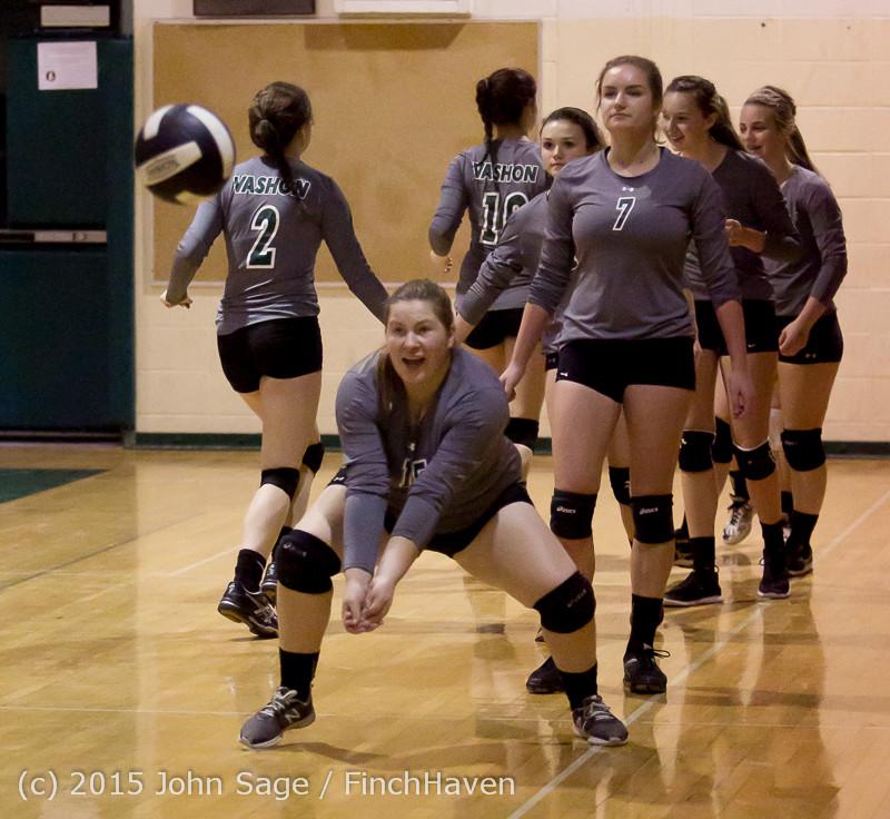 7141 Varsity Volleyball v Crosspoint 102315