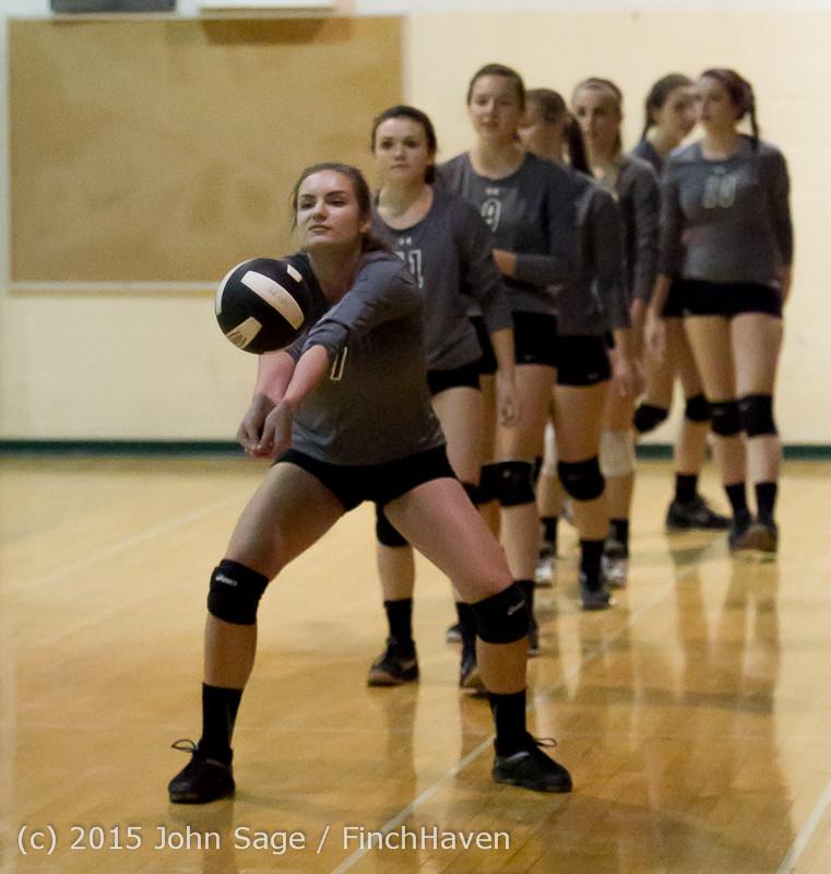 7149 Varsity Volleyball v Crosspoint 102315