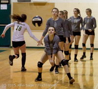 7154 Varsity Volleyball v Crosspoint 102315