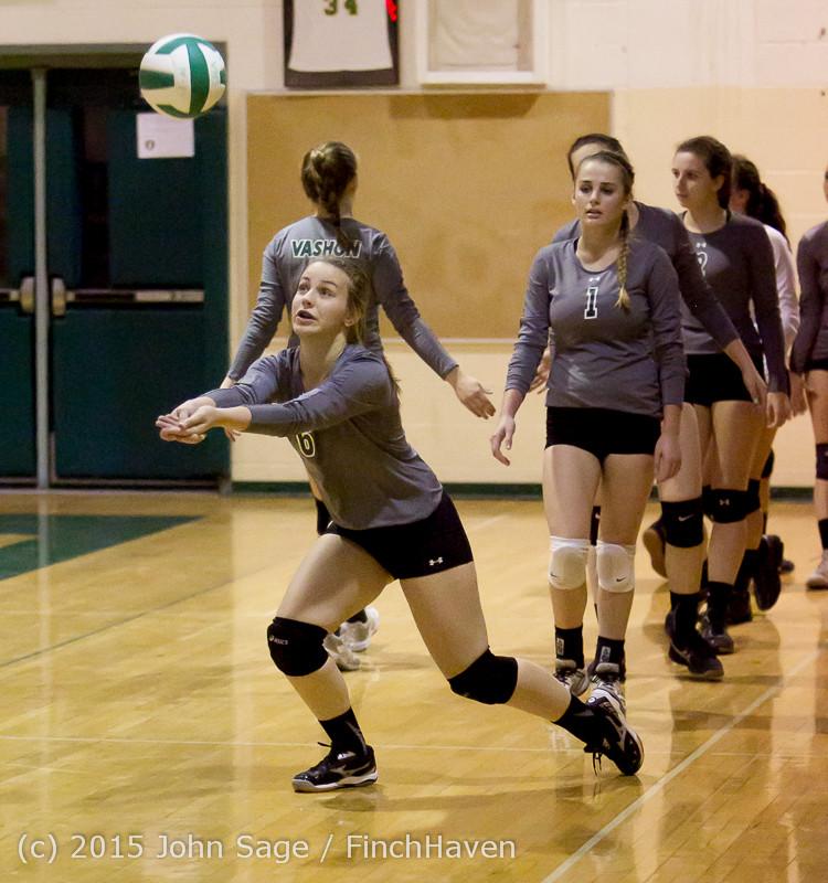 7160 Varsity Volleyball v Crosspoint 102315