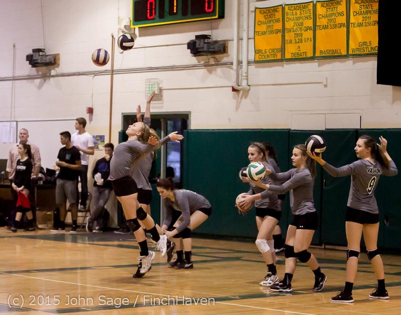 7164 Varsity Volleyball v Crosspoint 102315