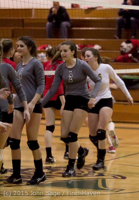 7222 Varsity Volleyball v Crosspoint 102315