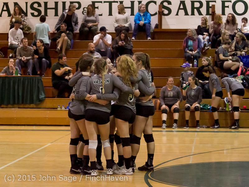 7231 Varsity Volleyball v Crosspoint 102315