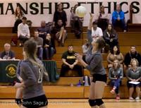 7287 Varsity Volleyball v Crosspoint 102315