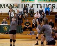 7335 Varsity Volleyball v Crosspoint 102315