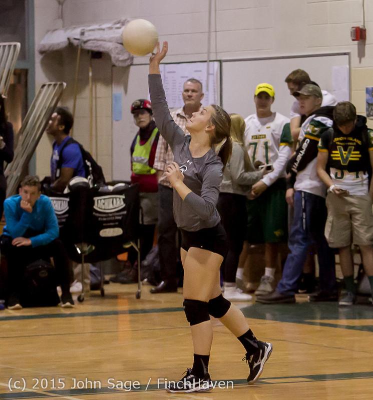7366 Varsity Volleyball v Crosspoint 102315