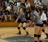 7377 Varsity Volleyball v Crosspoint 102315