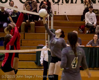 7401 Varsity Volleyball v Crosspoint 102315