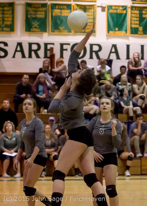 7411 Varsity Volleyball v Crosspoint 102315
