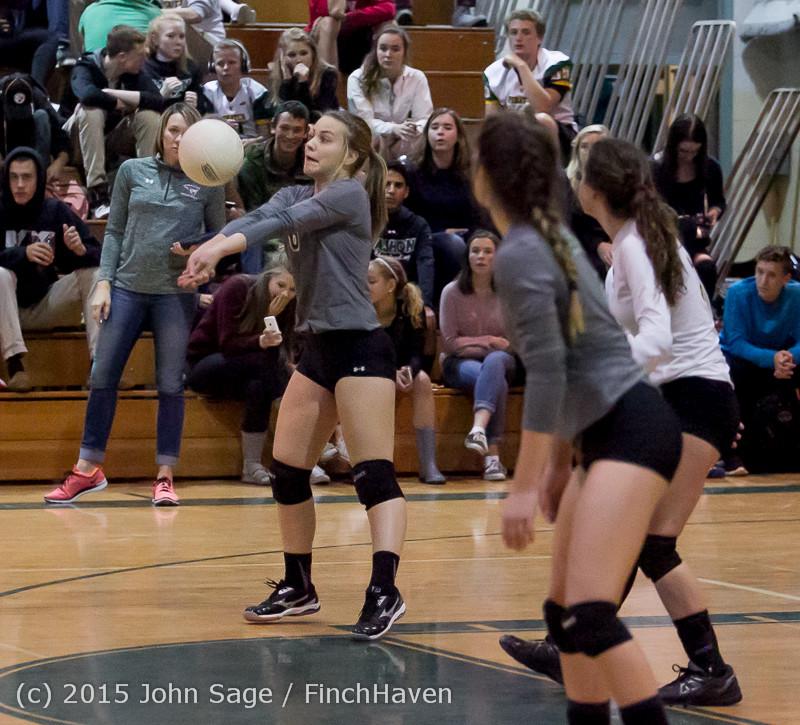 7420 Varsity Volleyball v Crosspoint 102315