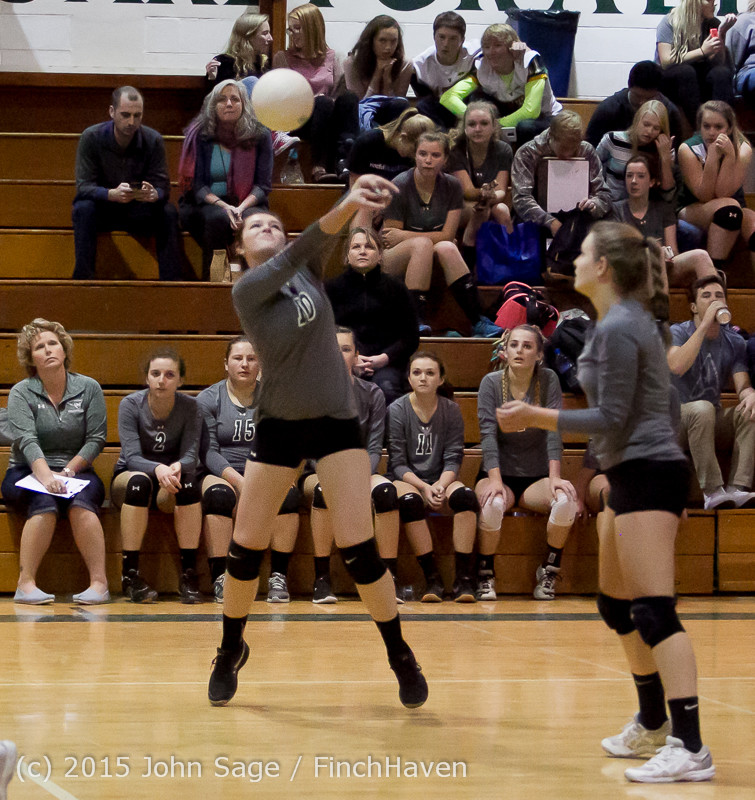 7452 Varsity Volleyball v Crosspoint 102315