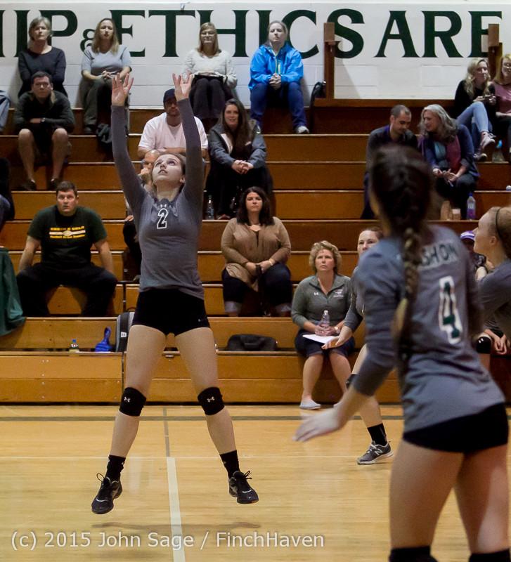 7488 Varsity Volleyball v Crosspoint 102315