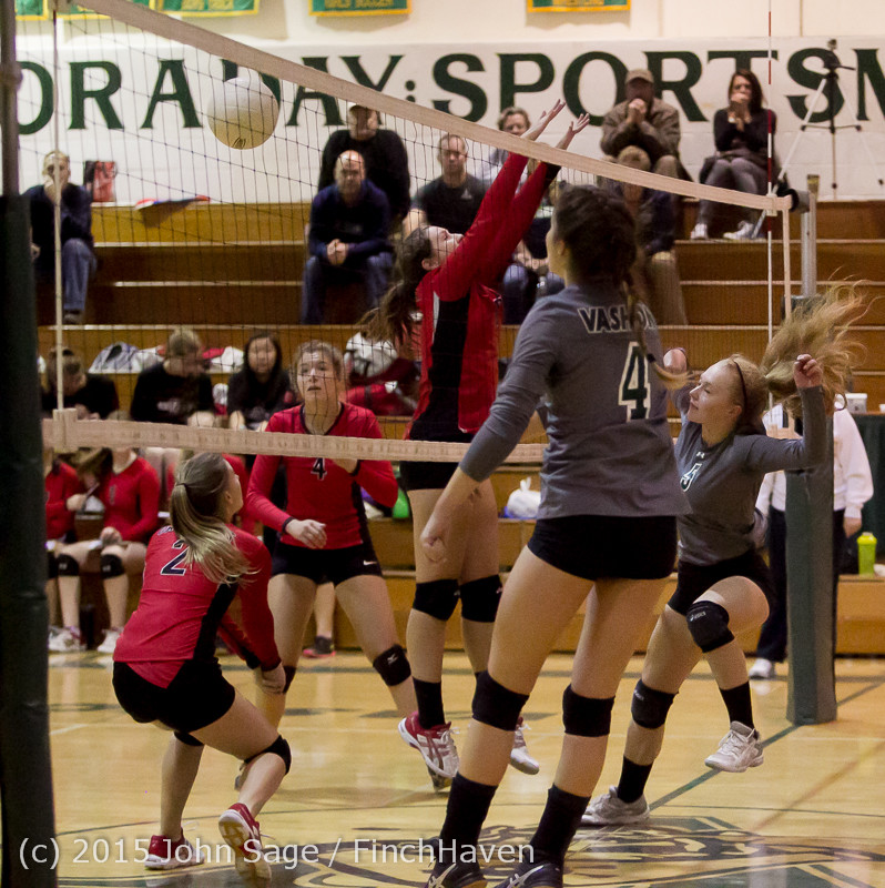 7494 Varsity Volleyball v Crosspoint 102315