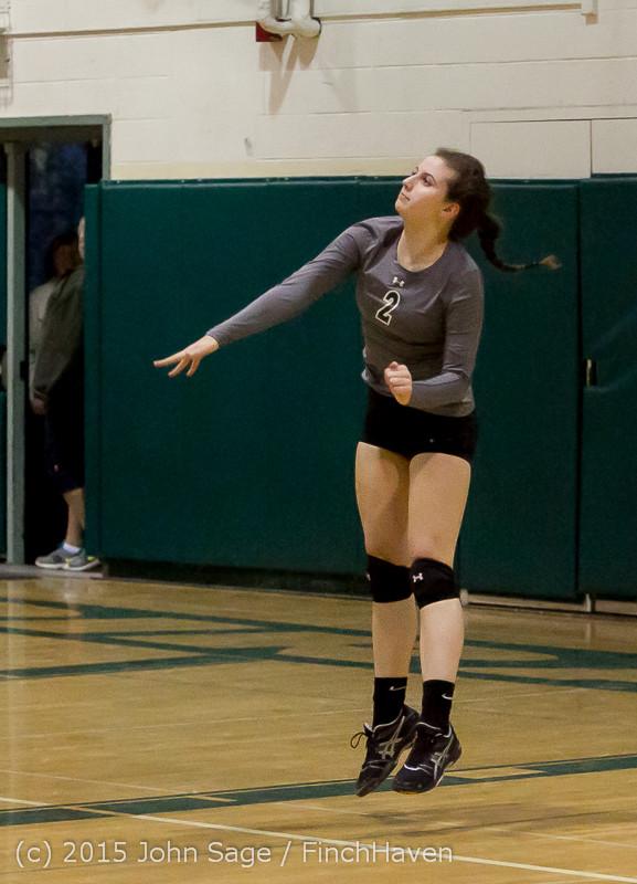 7515 Varsity Volleyball v Crosspoint 102315
