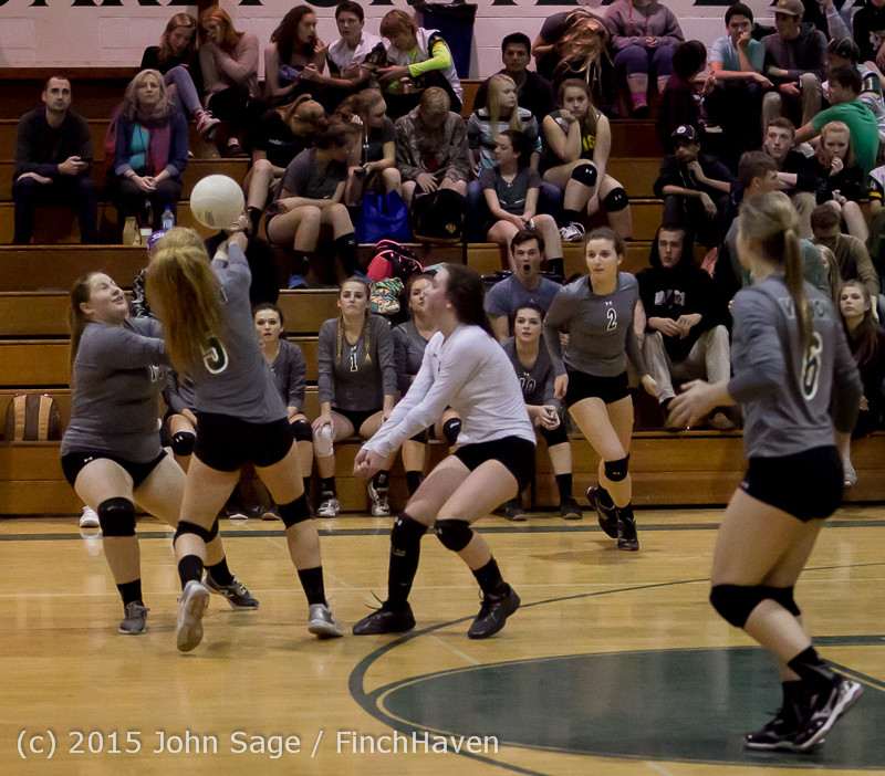 7525 Varsity Volleyball v Crosspoint 102315