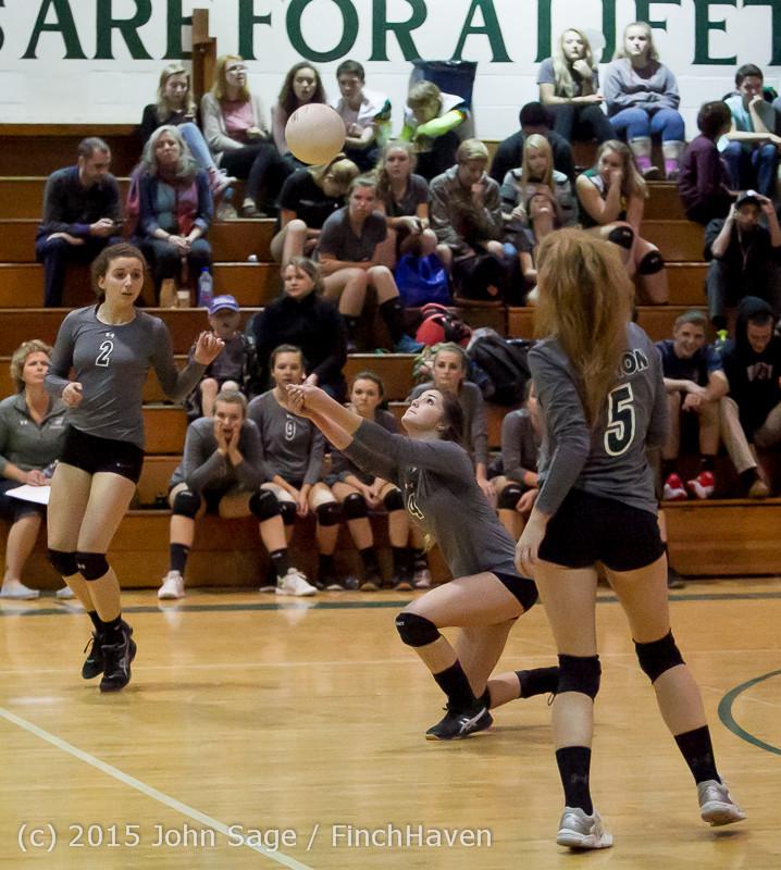 7532 Varsity Volleyball v Crosspoint 102315