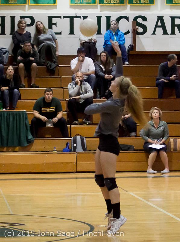 7543 Varsity Volleyball v Crosspoint 102315