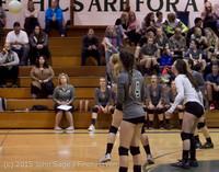 7594 Varsity Volleyball v Crosspoint 102315