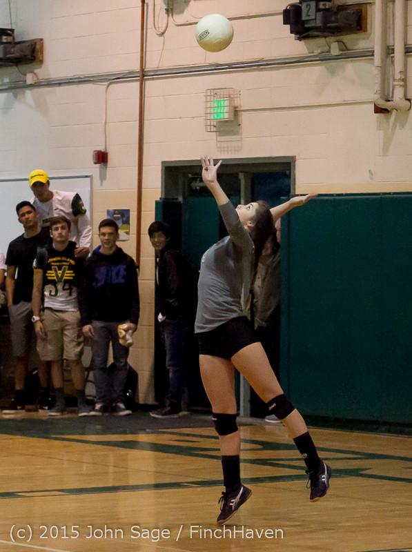 7597 Varsity Volleyball v Crosspoint 102315