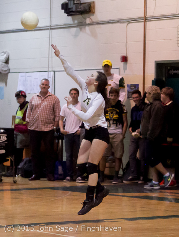 7629 Varsity Volleyball v Crosspoint 102315