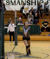 7721 Varsity Volleyball v Crosspoint 102315