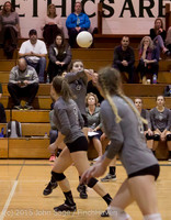 7734 Varsity Volleyball v Crosspoint 102315