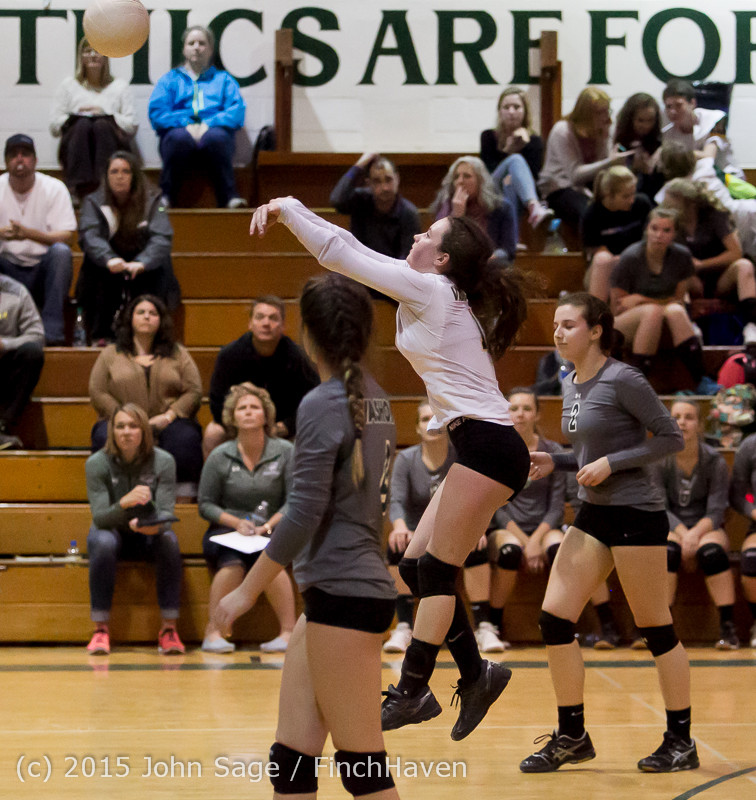 7738 Varsity Volleyball v Crosspoint 102315