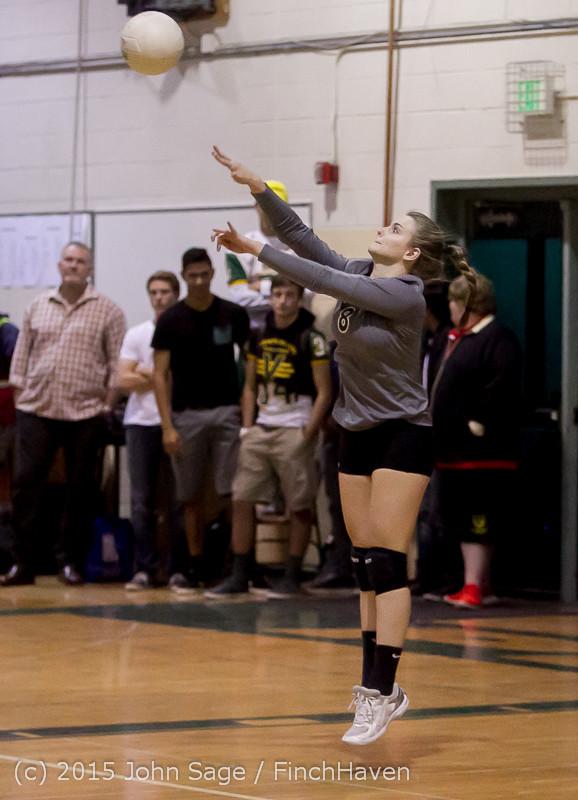 7752 Varsity Volleyball v Crosspoint 102315
