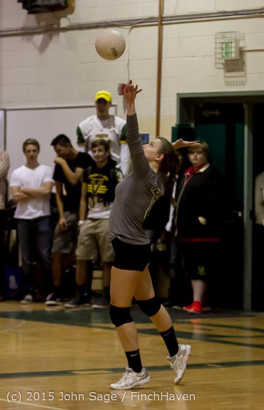 7777 Varsity Volleyball v Crosspoint 102315