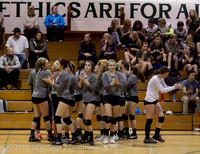 7798 Varsity Volleyball v Crosspoint 102315