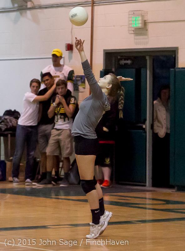 7806 Varsity Volleyball v Crosspoint 102315