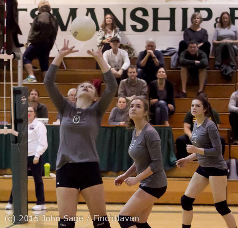 7818 Varsity Volleyball v Crosspoint 102315