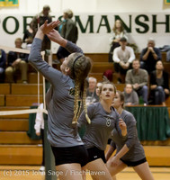 7822 Varsity Volleyball v Crosspoint 102315