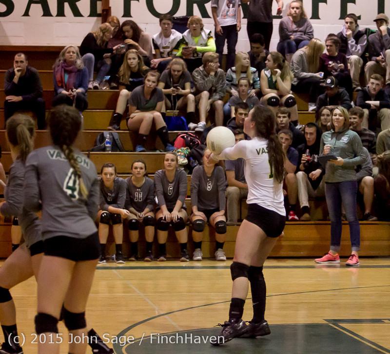 7831 Varsity Volleyball v Crosspoint 102315