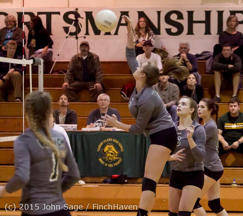 7841 Varsity Volleyball v Crosspoint 102315