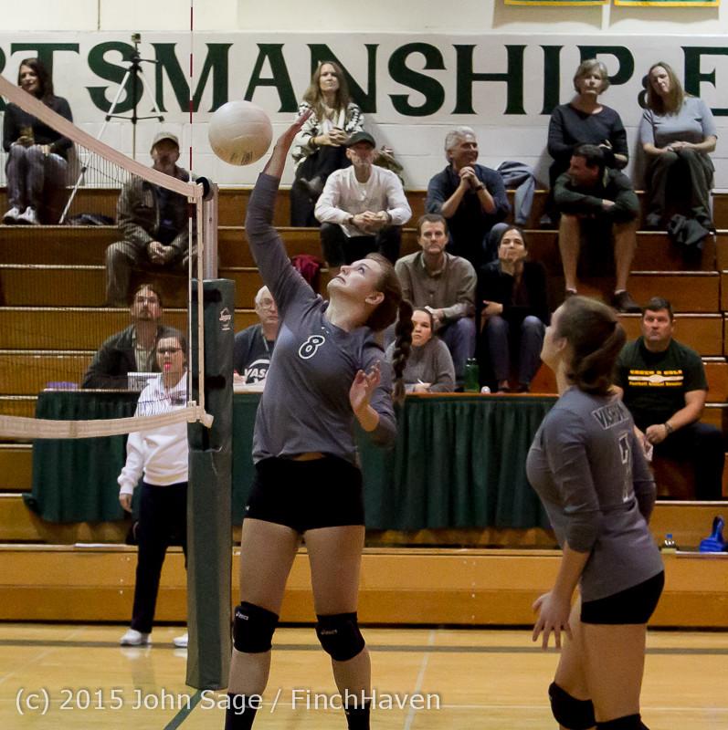 7851 Varsity Volleyball v Crosspoint 102315