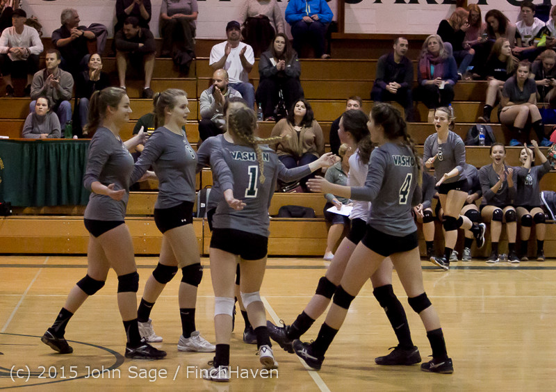 7857 Varsity Volleyball v Crosspoint 102315