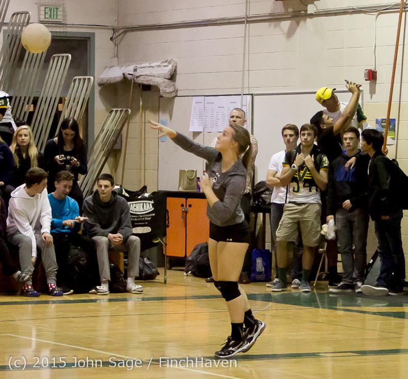 7869 Varsity Volleyball v Crosspoint 102315