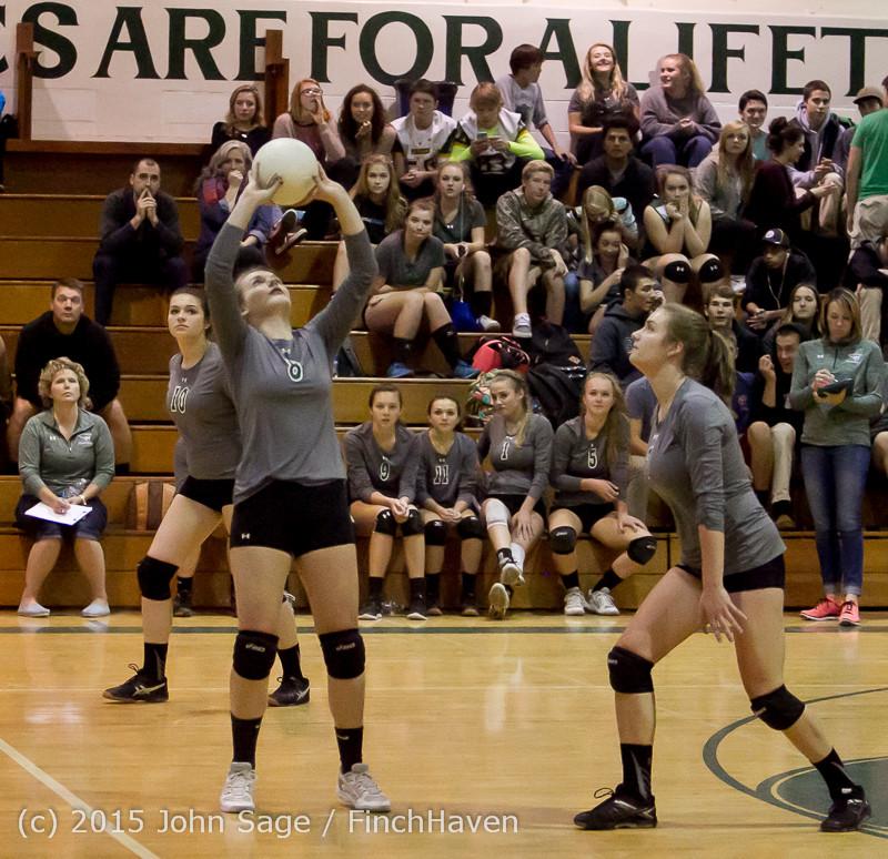 7881 Varsity Volleyball v Crosspoint 102315