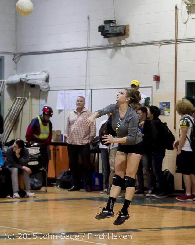 7895 Varsity Volleyball v Crosspoint 102315