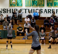 7909 Varsity Volleyball v Crosspoint 102315