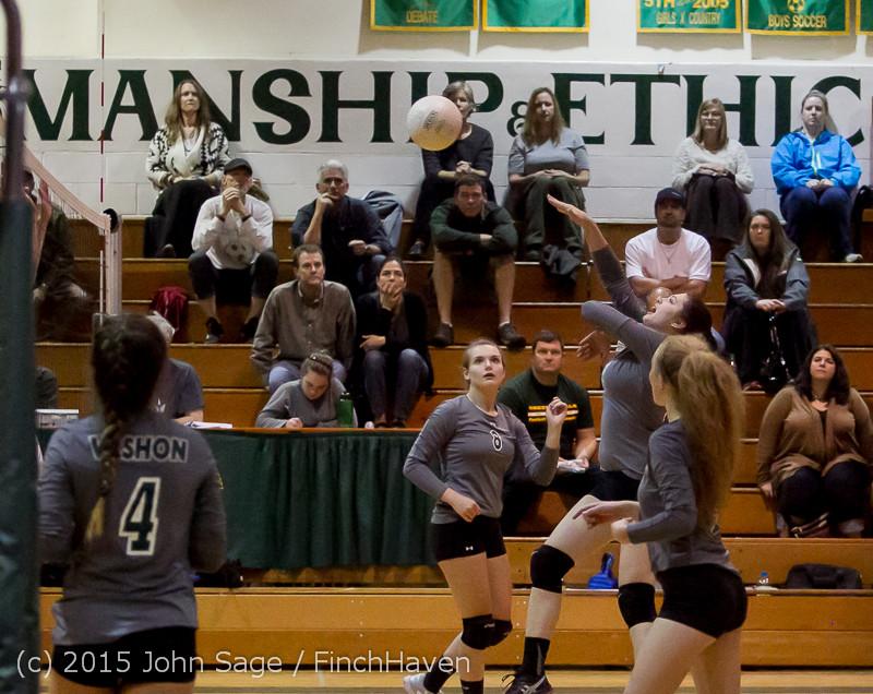 7914 Varsity Volleyball v Crosspoint 102315