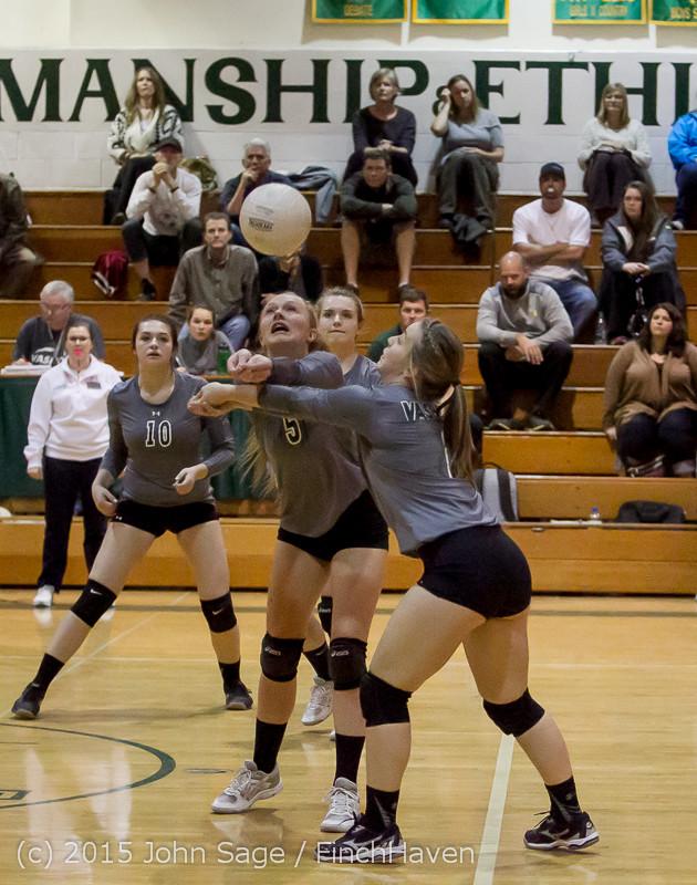 7921 Varsity Volleyball v Crosspoint 102315